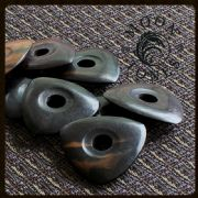 Moon Tones - Ebony - 1 Guitar Pick | Timber Tones